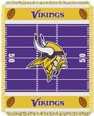 Northwest NFL Vikings Field Baby Woven Throw