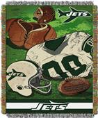 Northwest NFL Jets Vintage Tapestry Throw