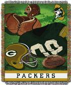 Northwest NFL Packers Vintage Tapestry Throw