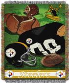 Northwest NFL Steelers Vintage Tapestry Throw