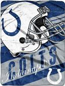 Northwest NFL Colts Deep Slant Raschel Throw