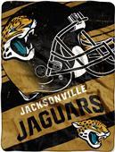 Northwest NFL Jaguars Deep Slant Raschel Throw