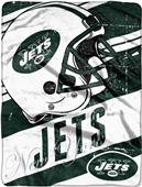 Northwest NFL Jets Deep Slant Raschel Throw