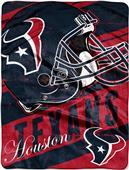Northwest NFL Texans Deep Slant Raschel Throw