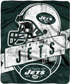 Northwest NFL Jets Grand Stand Raschel Throw