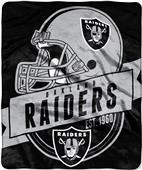 Northwest NFL Raiders Grand Stand Raschel Throw
