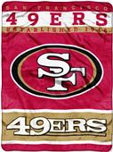Northwest NFL 49ers Raschel Throw