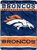 Northwest NFL Broncos Raschel Throw