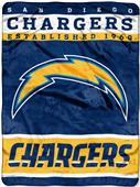 Northwest NFL Chargers Raschel Throw
