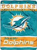 Northwest NFL Dolphins Raschel Throw