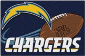 Northwest NFL Chargers Small Tufted Rug