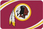 Northwest NFL Redskins Round Edge Bath Rug