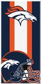 Northwest NFL Broncos Zone Read Beach Towel