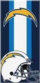 Northwest NFL Chargers Zone Read Beach Towel