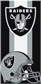 Northwest NFL Raiders Zone Read Beach Towel