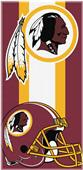 Northwest NFL Redskins Zone Read Beach Towel