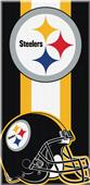 Northwest NFL Steelers Zone Read Beach Towel