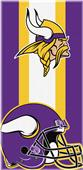 Northwest NFL Vikings Zone Read Beach Towel