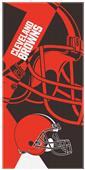 Northwest NFL Browns Puzzle Oversized Beach Towel