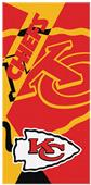 Northwest NFL Chiefs Puzzle Oversized Beach Towel