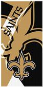 Northwest NFL Saints Puzzle Oversized Beach Towel