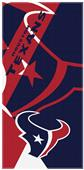 Northwest NFL Texans Puzzle Oversized Beach Towel