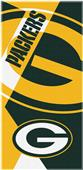 Northwest NFL Packers Puzzle Oversized Beach Towel