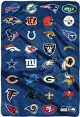 Northwest NFL All League Oversized Raschel Throw