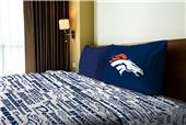 Northwest NFL Broncos Anthem Twin Sheet Set