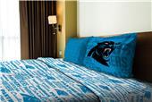 Northwest NFL Panthers Anthem Twin Sheet Set
