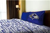 Northwest NFL Ravens Anthem Twin Sheet Set