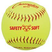"Champion Sports 11"" Safety Softballs (dozen)"