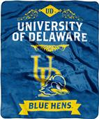NCAA Delaware Label Raschel Throw
