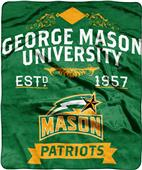 NCAA George Mason Label Raschel Throw