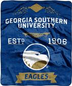 NCAA Georgia Southern Label Raschel Throw