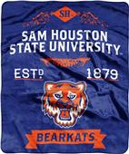 NCAA Sam Houston State Label Raschel Throw
