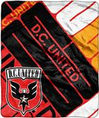 MLS DC United Scramble Raschel Throw