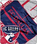 MLS FC Dallas Scramble Raschel Throw