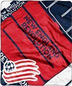 MLS NE Revolution Scramble Raschel Throw