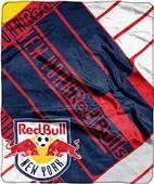 MLS New York Red Bulls Scramble Raschel Throw