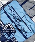 MLS Vancouver Whitecaps Scramble Raschel Throw