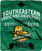 NCAA Southeastern Louisiana Label Raschel Throw