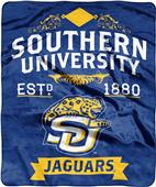 NCAA Southern University Label Raschel Throw