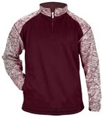 Badger Sport Adult Blend Sport 1/4 Zip Jacket