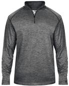 Badger Sport Adult Tonal Blend 1/4 Zip Jacket