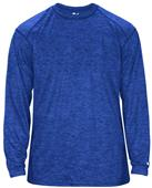 Badger Sport Adult Tonal Blend Long Sleeve Tee