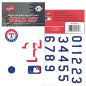 Rawlings MLB Team Decal Kits Batting Helmet Decals