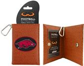 Arkansas Razorbacks Classic Football ID Holder
