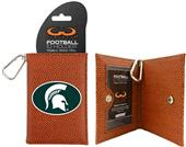 Michigan State Spartans Classic Football ID Holder