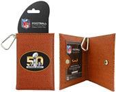 Super Bowl 50 Logo Classic NFL Football ID Holder